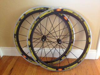 Carbon Wheels Mavic Cosmic Carbone SL Road Wheelset Clincher Shimano