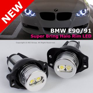 E90 E91 3 Series Replacement Super Bring Angel Eye Halo Rim LED Bulbs