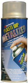 Plasti Dip SILVER Enhancer Metalizer Spray Rubber Spray Metallic RIMS