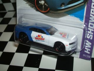 Hot Wheels 2013 Chevy Camaro Special Edition Wonder Bread Custom