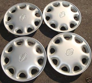 13 1993 94 95 96 Nissan Sentra 200SX Hubcaps Wheel Covers