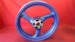 93 98 Suzuki GSXR 1100 750 Front Wheel Rim 17x3 5 Nice
