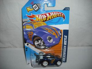 Hot Wheels 2012 Super Treasure Hunt VW BEETLE VOLKSWAGEN BUG Secret T