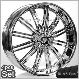26inch Wheels and Tires Rims 300C Magnum Charger Challenger Camaro