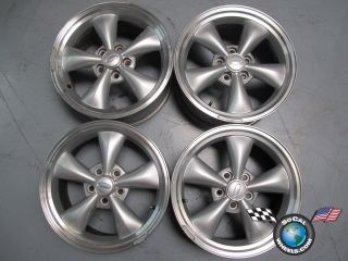 96 04 Ford Mustang GT Factory 17 Wheels OEM Rims 3448 Funnel spoke