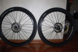 Bontrager Ranger Wheel Set with Tires and Disc Rotor