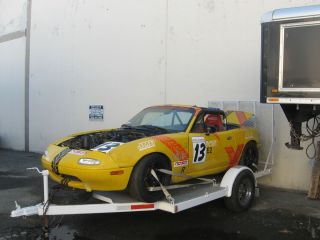 1990 91 92 93 Mazda Miata Rolling Race Car Roll Cage Zigen Wheels