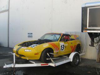 1990 91 92 93 Mazda Miaa Rolling Race Car Roll Cage Zigen Wheels
