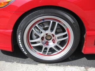 Rim Lip Decals by TFB Designs fits 17 Enkei RPF1 Wheels 17x8 17x9 17x8