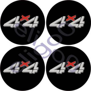 Stickers 4x4 Decals for Center Cap Wheels Rim Logo GC