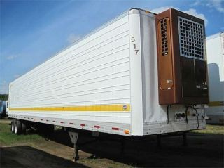 Utility 53 Refrigerated Reefer Trailer Aluminum Wheels Thermo King