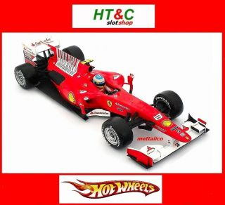 F10 Alonso Winner Bahrain GP Special Edition Hot Wheels T6287