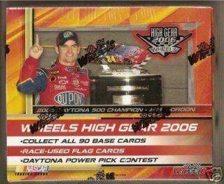 2006 Wheels High Gear Racing SEALED Hobby Box 20 Pks