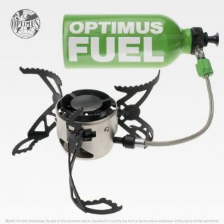 OPTIMUS NOVA PLUS PORTABLE CAMPING HIKING BACKPACKING MULTI FUEL STOVE