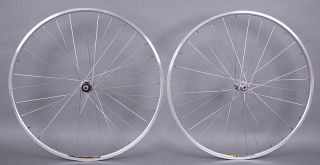 Shimano 105 Mavic Open Sport 32h Road Bike Wheelset Wheels DT Spokes 9