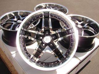 19 Effect Wheels Rims 5x114 3 Ford Mustang Crown Explorer Infiniti G35