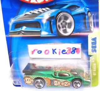 2003 Hot Wheels #113 * SEGA * Video Game   GT RACER   3 Spoke Wheel