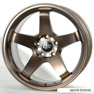 18 Rota P45 Sports Bronze Rims Wheels 18x9 5 20 5x114 3 EVO9 evo8 Evox