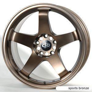 18 Rota P45 Sports Bronze Rims Wheels 18x9 5 20 5x114 3 EVO9 evo8 Evox