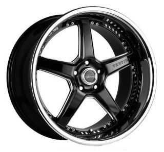 20 Vertini Drift Rims Wheels 20x8 5 35 5x114 3 Eclipse Camry Altima