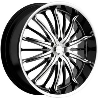 22 inch rims tires packages on popscreen Savini Wheels 96 Impala SS 22 inch 22x8 5 akuza belle black wheels rims 5x115 35