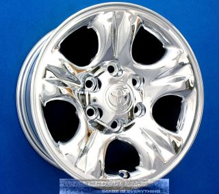Tundra Sequoia Tacoma T100 16 inch Chrome Wheels Rims 16