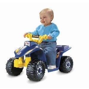 New Fisher Price Boys Kid Power Wheels Ride on ATV Quad