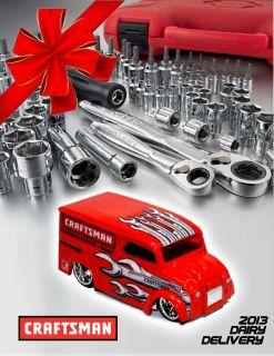 Hot Wheels Custom 2013  Craftsman Tools Dairy Delivery Boxman
