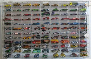 108 Hot Wheels 1 64 Scale Diecast Display Case UV Protection Acrylic