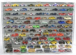 Truck Wall Display Case 108 Compartment Hot Wheels Johnny Lightning