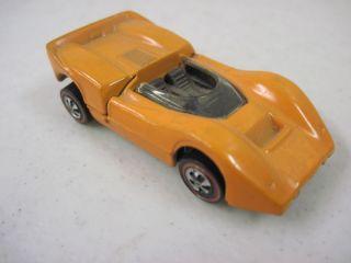 Vintage 1968 McLaren M A Hot Wheels Redline Mattel Die Cast