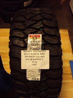 Mickey Thompson Baja Radial MTZ 305 55R20 121 118Q Brand New Tire