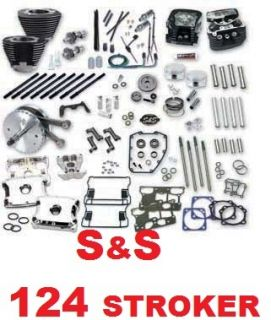 Hot Set Up 124 CI Stroker Kit Harley 1999 2006 B Motor Retail $