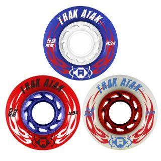 Atom Trak Atak Quad Roller Derby Speed Skate Wheels