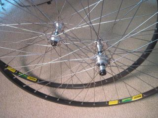 Nuovo Record Hubs Mavic MA40 MA 40 Rim 700c Clincher Wheels 126