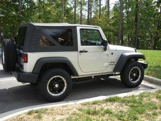 Black Silver Wheels 5 Lug 5x127 5 Rims Jeep Wrangler Tahoe