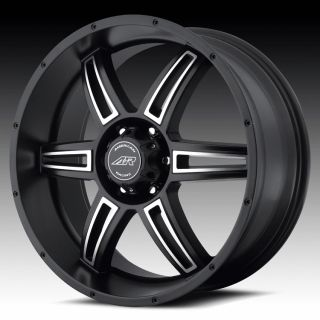 16 inch AR890 Black Wheels Rims 5x5 5x127 2007 Jeep Wrangler Commander