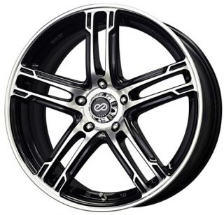 17 Enkei FD05 Machine Rims Wheels 17x7 40 5x114 3 XB