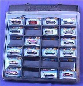 24 Compartment Carded Hot Wheels Display Case Holder