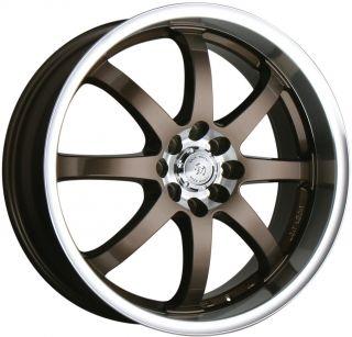 18 Wheel Rim Honda Accord Civic Fit CRX Integra Yaris Sentra 4x100