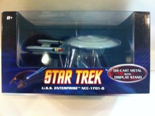 BNIB Hot Wheels Star Trek USS Enterprise NCC 1701 D