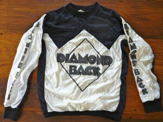 Vintage Old School BMX Diamond Back Jersey Top Shirt