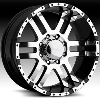 American Eagle Style 079 Wheels Rims 20x9 6x135mm Superfinish Black