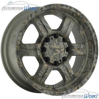 Tec Offroad 5x114 3 5x4 5 18mm Camo Wheels Rims inch 17