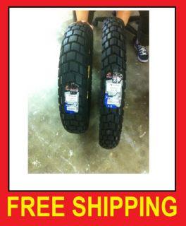 KLR650 90 90 21 130 80 17 Enduro Motorcycle Tire Set M41 Dual Sport