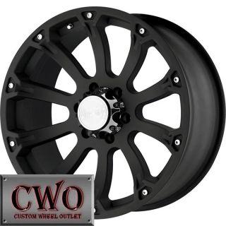 17 Black Sidewinder Wheels Rims 6x139 7 6 Lug Sierra Titan Tundra GMC