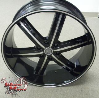 6x139 7 U2 55B Black Machine Wheels Rims Well Beat Any Price