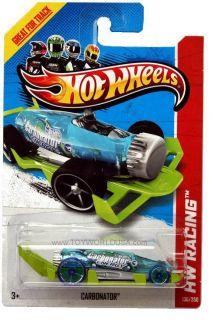 2013 Hot Wheels 136 HW Racing x Raycers Carbonator Treasure Hunt