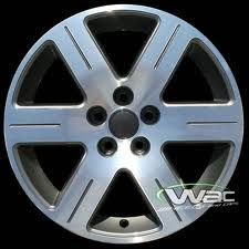 Beetle 16x6 5 Factory 6 Spoke Painted Silver Wheel Rim