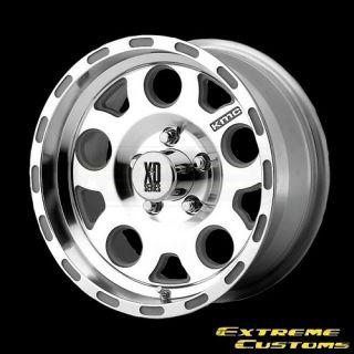 XD Series XD122 Enduro Machined 5 6 8 Lug Wheels Rims Free Lugs
